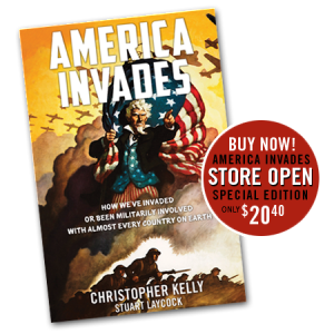 Buy Now! America Invades Store Open. Special Edition only $20.40