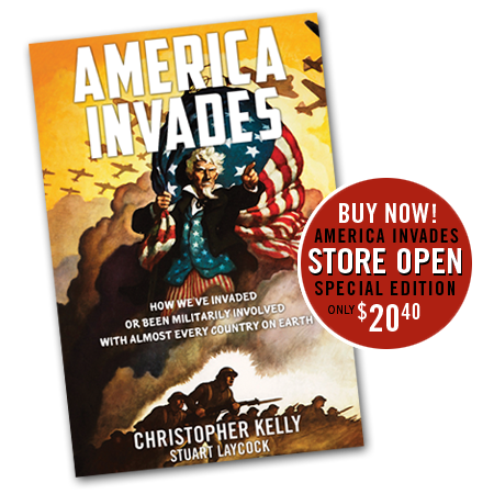 The America Invades Book