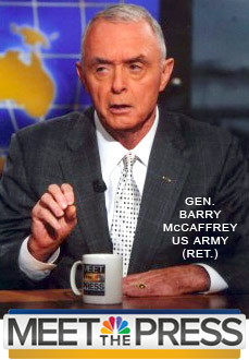 General Barry McCaffrey on Meet The Press